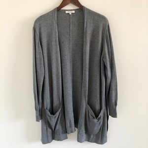 🆕 Madewell Coffeehouse Gray Cardigan Size M